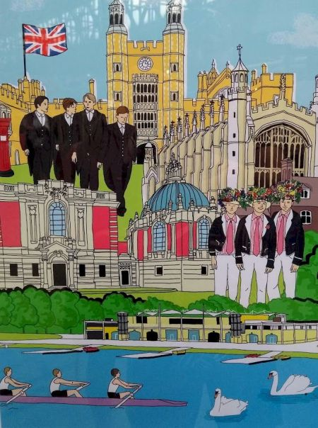 Eton - Tea-towel seen by me in a shop window