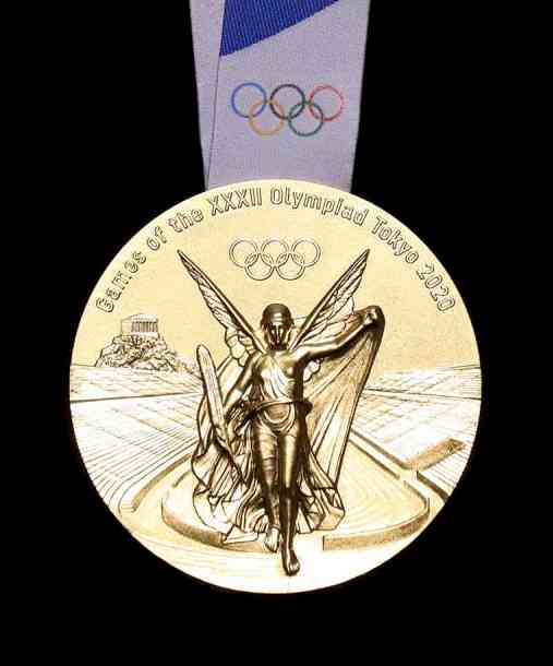 2020 Olympic Medal